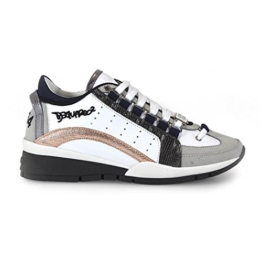 DSQUARED2 551 POWDER ANTHRACITE SNEAKERS -