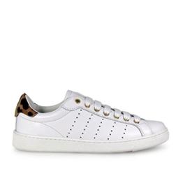 Dsquared2 Damen Santa Monica Pony Weiss Sneaker -