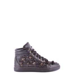 Dsquared2 Dsquared Damenschuhe Damen Leder Schuhe High Sneakers Schwarz EU 36 W13K301015 -