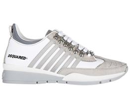 Dsquared2 Herrenschuhe Herren Leder Schuhe Sneakers 251 Weiß EU 43 S17SN101 713 M182 -