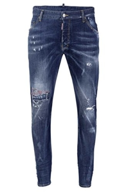 Dsquared² Herren Jeans Slim Leg CLASSIC KENNY TWIST, Farbe: Blau, Größe: 48 -