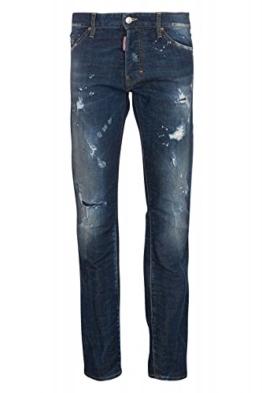 Dsquared² Herren Jeans Slim Leg COOL GUY JEAN, Farbe: Dunkelblau, Größe: 48 -