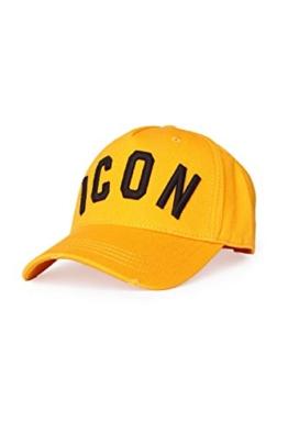 Dsquared² Unisex Cap ICON, Farbe: Gelb, Größe: One Size -